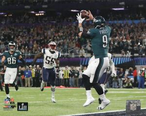 Nick Foles Philadelphia Eagles Super Bowl LII Philly Special 8x10 Photo