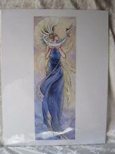 """2004""  Crescent Moon Fairy  8.5X11 Fantasy Print by Stephanie Pui-Mun Law"