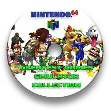 NINTENDO 64 GAMES EMULATOR - WINDOWS MAC LINUX & ANDROID - 429 GAMES PACK