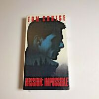 Mission Impossible VHS Tom Cruise NEW