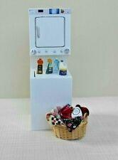 5Pcs 1:12 Dollhouse miniature bathroom accessory comb hair dryer mirror mod CA