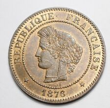 5 CENTIMES CERES 1876A