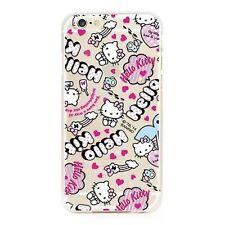 Hello Kitty iPhone 6 6s Schutz Hülle Handy Cover Case Tasche Motiv Bumper TPU 11
