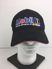 Mobil 1 Ball Cap Official Motor Oil NASCAR Pegasus Flying Horse Hat Auto Racing