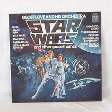 Geoff Love & His Orchestra Star Wars Other Space Themes LP Record 1978 England
