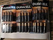 Duracell MN1500 Alkaline AA Batteries 6x 8-count Coppertop .Mar 2027