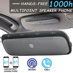 🔥 Wireless bluetooth Handsfree Car Auto Kit Speakerphone Speaker for MP3
