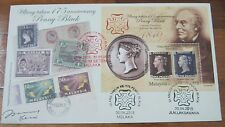 Launch 175 Penny Black signed Melaka Laksamana Malaysia First Day Cover d