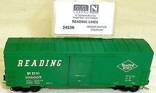 lectura LÍNEAS 40' BOX CAR Individual Puerta Micro Trains LINE 24230 N 1:160
