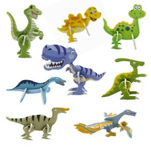 5pc 3D DIY Model Dinosaurs Kids Toys