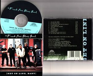 The Frank Ace Blues Band -Ger On Line Baby CD *HAND SIGNED* RARE