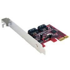 Startech tarjeta PCI Express SATA 2 puertos
