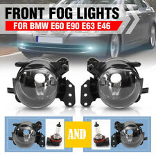 Fog Lights Lamp For BMW 3 Series E60 E61 E63 E46 X3 325i 525i Assembly 9006 PAIR