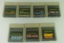 Atari 2600 Coleco 7 Game Lot Smurf, Mr Do! Kong, Zaxxon, Venture, JR. Carnival