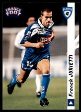 DS France Foot 1998/99 Franck Jurietti Bastia No. 23