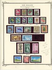 NEW ZEALAND--Lot of 23 stamps Scott #332-#345, #347-#352. #354, #360-#361