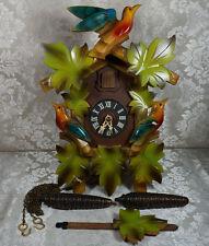 Black Forest Hubert Herr Chalet Style Cuckoo Clock Germany