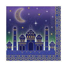 16 x Eid Ramadan Kareem Paper Luncheon Napkins Party Tableware