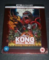 Kong Skull Island 4K Ultra HD  + 2/D Steelbook Per-Order Now  UK. Region Free