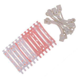 12pcs Perming Rods Rollers For Curling Waves All Size Hair Styling 7 x 1cm