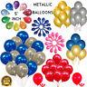 "5""Inch Metallic Balloons Shiny pearl Helium Ballons Birthday Lockdown party Ball"