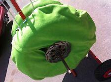 Verde mediano polar mantas de neumáticos cubre calentadores de neumáticos