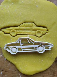 NEU Ähnl. Fiat X1 9 Seite Ausstecher Form Cutter Auto Car Salzteig
