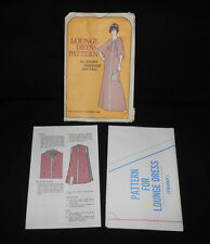 New Vtg 70s FF Curtin LOUNGE DRESS CAFTAN Pattern Short Average Tall Uncut Retro