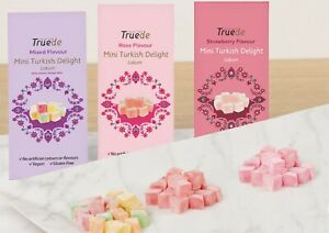 150g ROSE MIXED STRAWBERRY Flavour Turkish Delight Lokum Christmas New year
