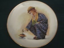 Four Clown Capers Collector Plates Hamilton Spinner Rascal Romeo Steady Freddie