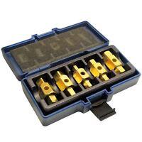 Drain Sump Plug Key Tool Set Axles Gear Box Car Repair Oil Change TE168