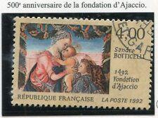 TIMBRE FRANCE OBLITERE N° 2754 FONDATION D'AJACCIO  / Photo non contractuelle