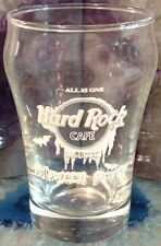"Hard Rock Cafe BANGKOK 2001 HALLOWEEN PARTY 3.25"" SHOT GLASS Mini ""ALL IS ONE"""