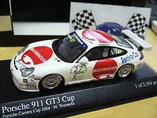 PORSCHE 911 GT3 Cup Carrera Buchbinder Warnec PMA Minichamps 1:43