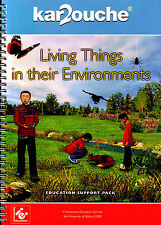 KAR2OUCHE LIVING THINGS IN THEIR ENVIRONMENTS EDUCATION SUPPORT PACK Immersive