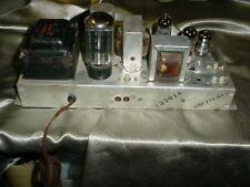 Single-Ended Stereo Tube Amplifier EL84/6BQ5 Output Tubes---Magnavox Model 196-A