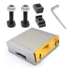 "Magnetspannplatte 150x150mm Magnetfutter Permanente 6""x6"" Magnetic Chuck"