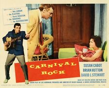 """""""CARNIVAL ROCK"""" Affiche U.S. entoilée (Roger CORMAN / Bob LUMAN, Susan CABOT)"""