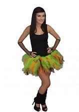 Neon  6 Layer Tutu Legwarmers Gloves UK Sizes 8 - 20 80s Fancy Dress Costume