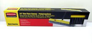 "New Rubbermaid Commercial 24"" Fine Floor Sweep Broom Head Polypropylene 9B02-00"