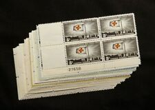 US STAMPS PLATE BLOCKS **FANTASTIC** Collection of Vintage 5c Mint NH OG