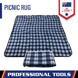 Picnic Blanket Water-proof Rug Premium Mat 3-Layer Outdoor Camping 135x150cm