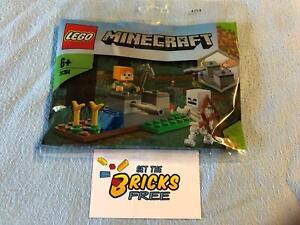 Lego Minecraft 30394 The Skeleton Defense Polybag New/Sealed/Hard to Find
