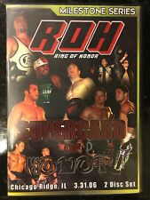 ROH - Supercard Of Honor 3.31.06 - WWE - Ring Of Honor - DVD - Rare - PWG