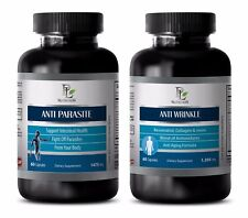 Metabolism pills - ANTI WRINKLE – ANTI PARASITE COMBO 2B - black walnut and worm