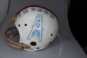 Vintage 1984 Nokona NPJH-8 Medium Football Helmet Oilers Size 6 5/8 - 6 3/4