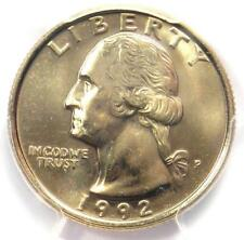 1992-P Washington Quarter 25C - PCGS MS67 - Rare in MS67 Grade - $800 Value!