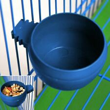 5Pcs Parrot Feeding Bowls Round Food Water Feeders for Bird Pet Cage Hanging Hot