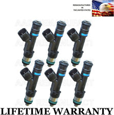 UPGRADED Genuine Bosch Set Of 6 Fuel Injectors Jeep Dodge Mitsubishi 3.7L OEM