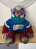 RARE VINTAGE MY PET MONSTER,1986,FOOTBALL MONSTER,AMTOY INC